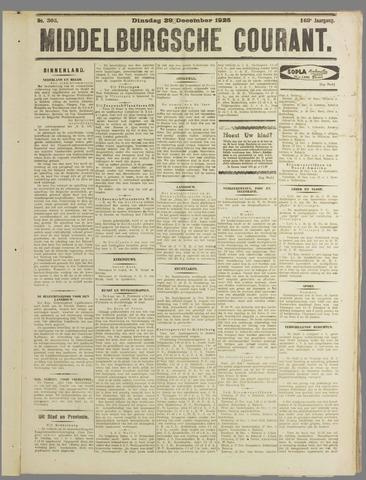 Middelburgsche Courant 1925-12-29