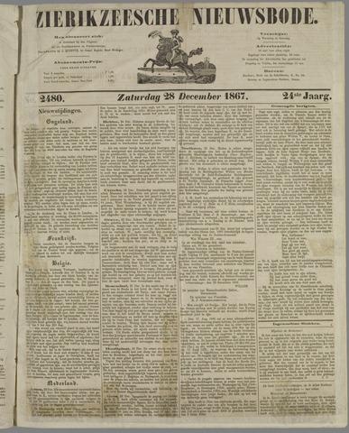 Zierikzeesche Nieuwsbode 1867-12-28