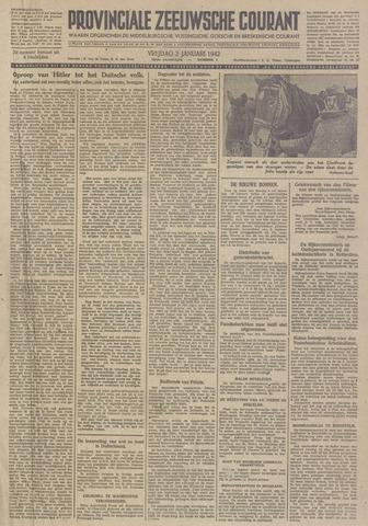 Provinciale Zeeuwse Courant 1942-01-02