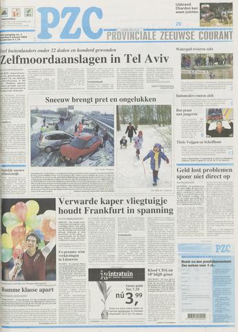 Provinciale Zeeuwse Courant 2003-01-06