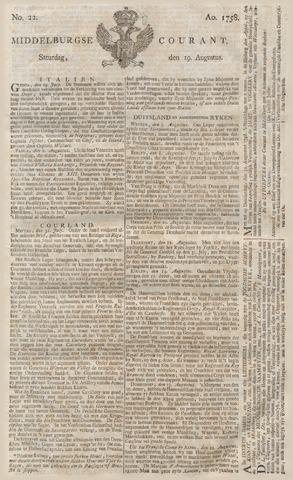 Middelburgsche Courant 1758-08-19