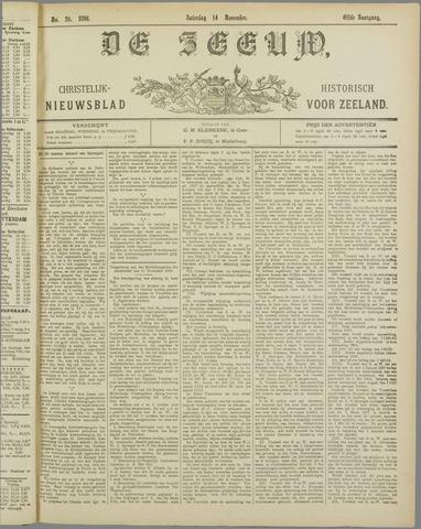De Zeeuw. Christelijk-historisch nieuwsblad voor Zeeland 1896-11-14