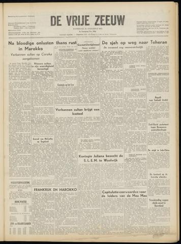 de Vrije Zeeuw 1953-08-22