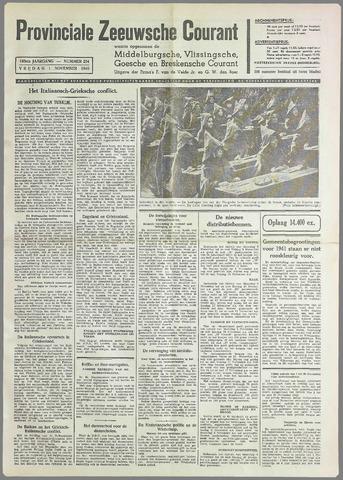 Provinciale Zeeuwse Courant 1940-11-01