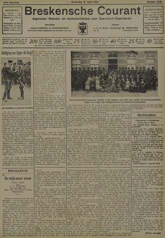 Breskensche Courant 1932-04-27
