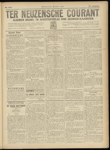 Ter Neuzensche Courant. Algemeen Nieuws- en Advertentieblad voor Zeeuwsch-Vlaanderen / Neuzensche Courant ... (idem) / (Algemeen) nieuws en advertentieblad voor Zeeuwsch-Vlaanderen 1932-07-20