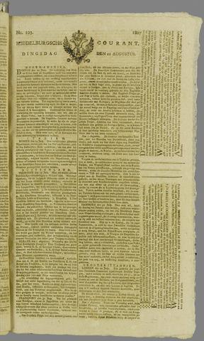 Middelburgsche Courant 1807-08-11
