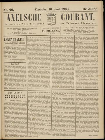 Axelsche Courant 1900-06-16