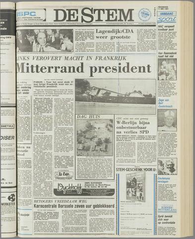 de Stem 1981-05-11