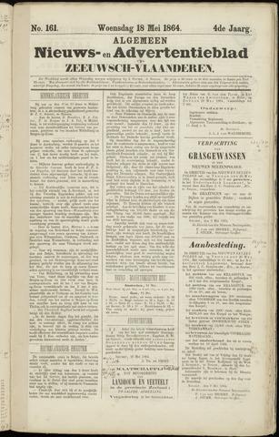 Ter Neuzensche Courant. Algemeen Nieuws- en Advertentieblad voor Zeeuwsch-Vlaanderen / Neuzensche Courant ... (idem) / (Algemeen) nieuws en advertentieblad voor Zeeuwsch-Vlaanderen 1864-05-18