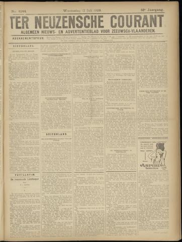 Ter Neuzensche Courant. Algemeen Nieuws- en Advertentieblad voor Zeeuwsch-Vlaanderen / Neuzensche Courant ... (idem) / (Algemeen) nieuws en advertentieblad voor Zeeuwsch-Vlaanderen 1928-07-11