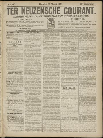 Ter Neuzensche Courant. Algemeen Nieuws- en Advertentieblad voor Zeeuwsch-Vlaanderen / Neuzensche Courant ... (idem) / (Algemeen) nieuws en advertentieblad voor Zeeuwsch-Vlaanderen 1920-03-30