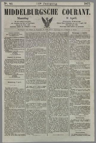 Middelburgsche Courant 1877-04-09