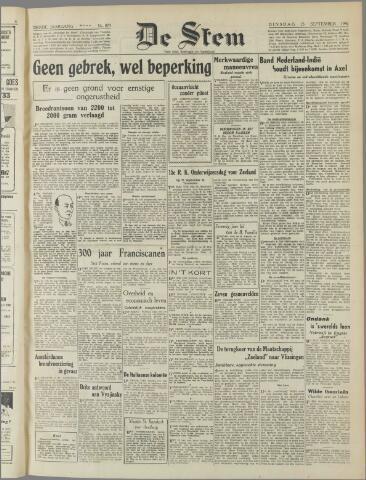 de Stem 1947-09-23