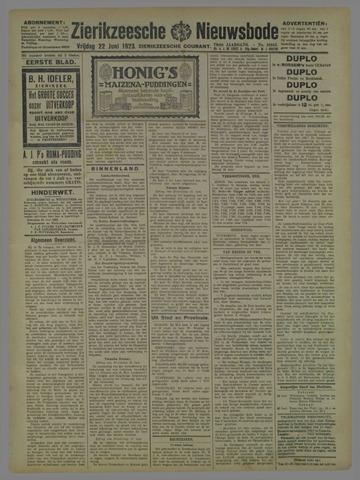 Zierikzeesche Nieuwsbode 1923-06-22