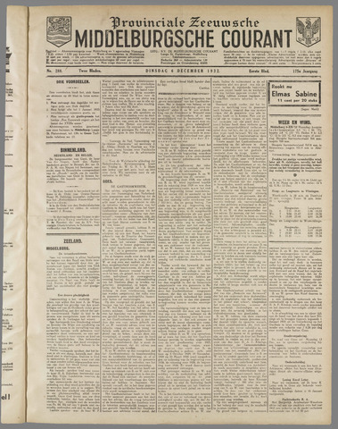 Middelburgsche Courant 1932-12-06