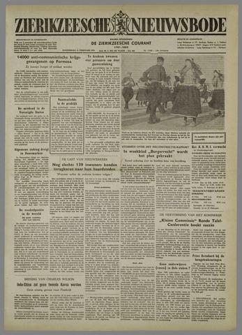 Zierikzeesche Nieuwsbode 1954-02-11