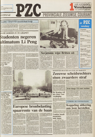 Provinciale Zeeuwse Courant 1989-05-22