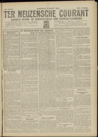 Ter Neuzensche Courant. Algemeen Nieuws- en Advertentieblad voor Zeeuwsch-Vlaanderen / Neuzensche Courant ... (idem) / (Algemeen) nieuws en advertentieblad voor Zeeuwsch-Vlaanderen 1942-03-11