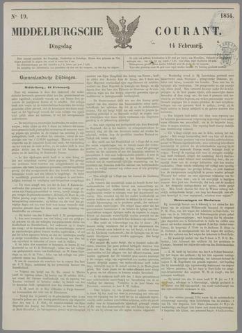 Middelburgsche Courant 1854-02-14