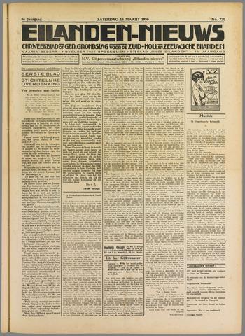 Eilanden-nieuws. Christelijk streekblad op gereformeerde grondslag 1936-03-14