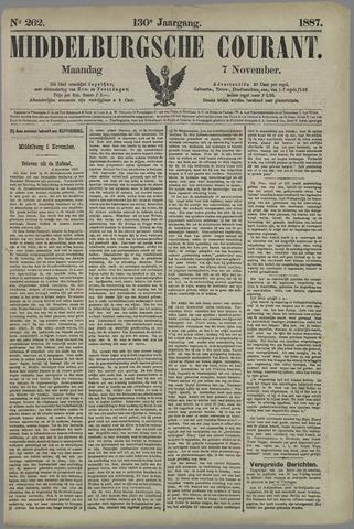 Middelburgsche Courant 1887-11-07