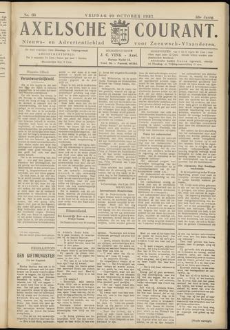 Axelsche Courant 1937-10-29