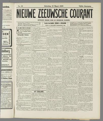 Nieuwe Zeeuwsche Courant 1909-03-13
