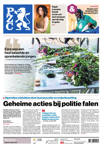Provinciale Zeeuwse Courant 2017-10-17