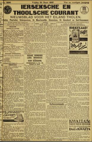 Ierseksche en Thoolsche Courant 1927-03-25