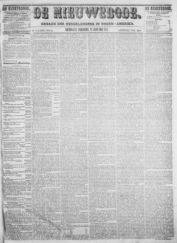 Sheboygan Nieuwsbode 1857-01-27