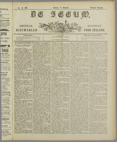 De Zeeuw. Christelijk-historisch nieuwsblad voor Zeeland 1898-11-12