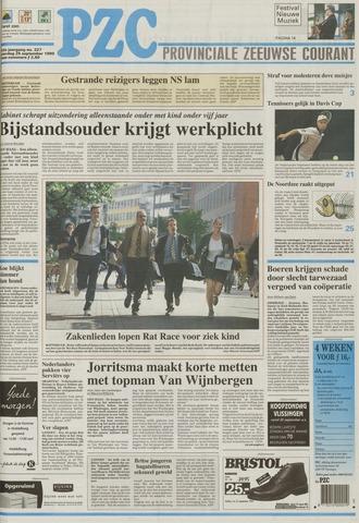 Provinciale Zeeuwse Courant 1999-09-25