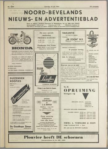 Noord-Bevelands Nieuws- en advertentieblad 1964-06-25