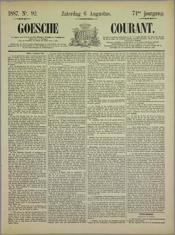 Goessche Courant 1887-08-06