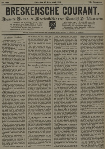 Breskensche Courant 1915-02-13