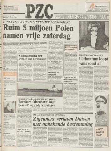 Provinciale Zeeuwse Courant 1981-01-12