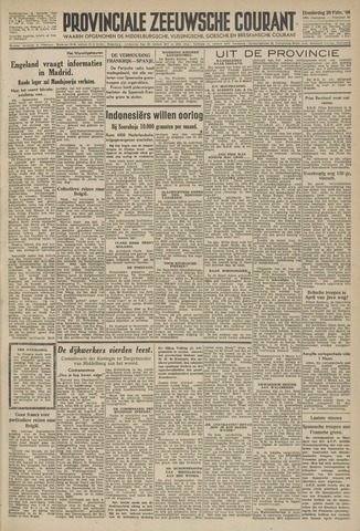 Provinciale Zeeuwse Courant 1946-02-28