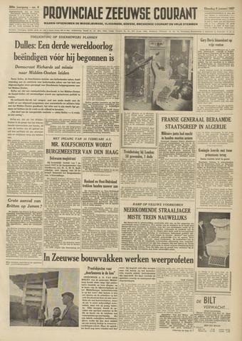 Provinciale Zeeuwse Courant 1957-01-08