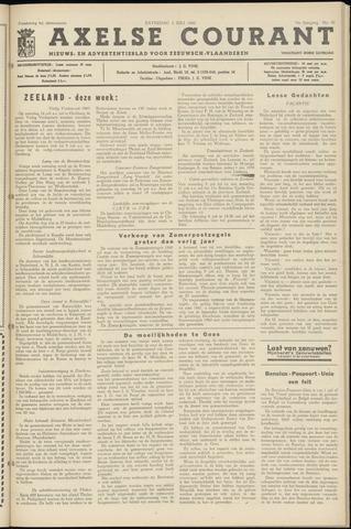 Axelsche Courant 1960-07-02