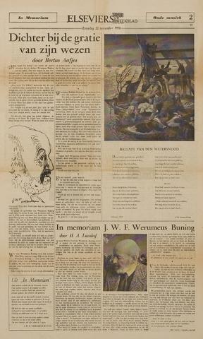 Watersnood documentatie 1953 - kranten 1958-11-22