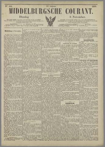 Middelburgsche Courant 1895-11-05