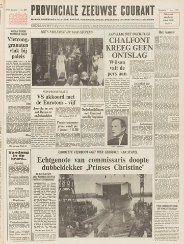 Provinciale Zeeuwse Courant 1967-11-01