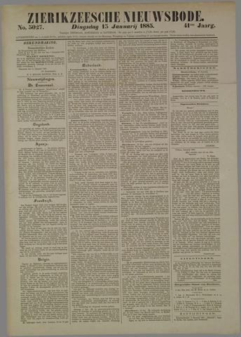 Zierikzeesche Nieuwsbode 1885-01-13