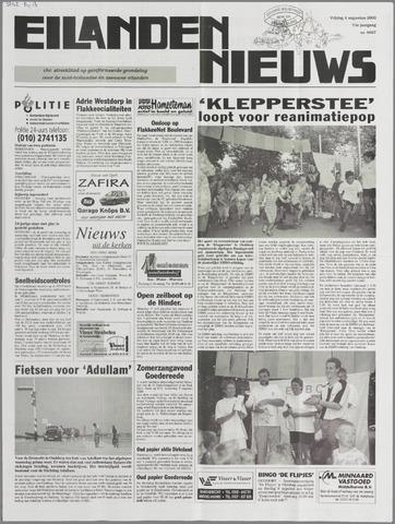 Eilanden-nieuws. Christelijk streekblad op gereformeerde grondslag 2000-08-04