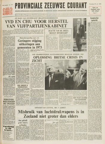 Provinciale Zeeuwse Courant 1972-07-26