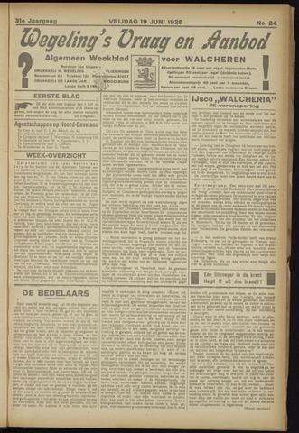 Zeeuwsch Nieuwsblad/Wegeling's Nieuwsblad 1925-06-19