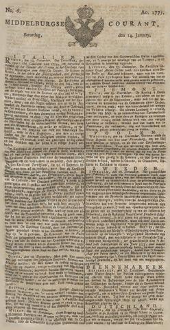 Middelburgsche Courant 1775-01-14