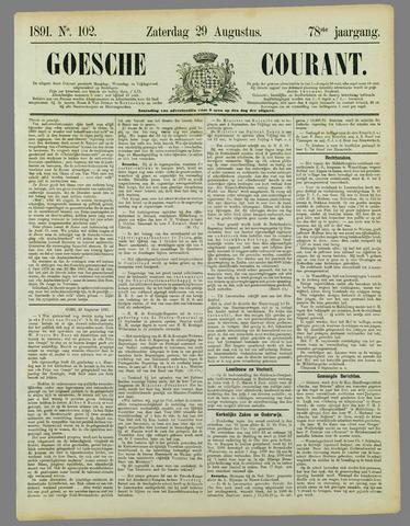 Goessche Courant 1891-08-29