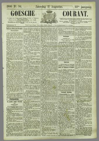 Goessche Courant 1906-08-11